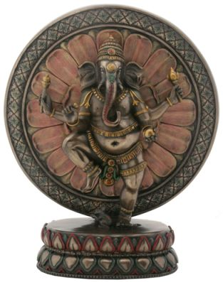 Ganesha With Lotus