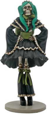 Day Of The Dead J-pop Girl Gothicfigurine