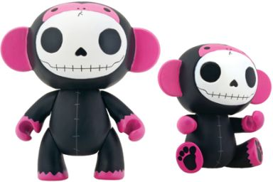 Furrybones Black Munky Monkey Vinyl Toy
