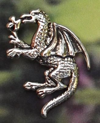 Celtic Baby Nugbert Dragon Jewelry Pendant