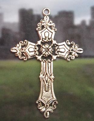 Celtic Renaissance Cross Jewelry Pendant