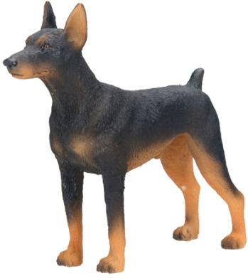 Dog Breed Statues - Doberman Pinscher - Small