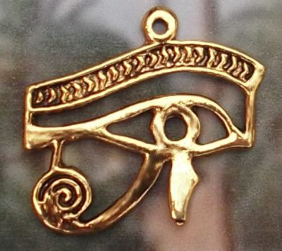 Medium Egyptian Royal Eye Of Horus Pendant