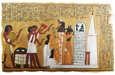 Ancient Egyptian Wall Plaque