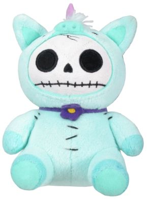 Furry Bones Small Unie Unicorn Plush Toy