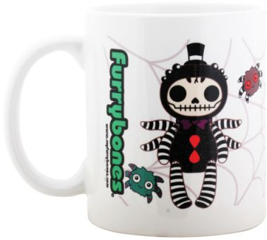 Furry Bones Webster Spider Mug