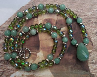 Fable Of Fortune Handmade Gemstone Necklace