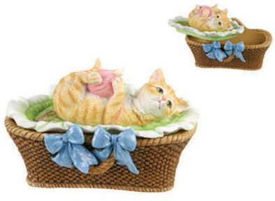 Kitten Jewelry Box - Yarns And Tails