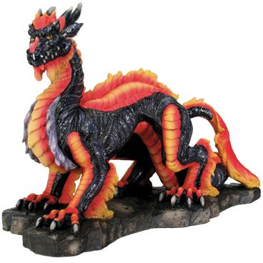 Large Dragons Luck Figurine Statue