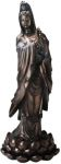 3ft Kuan Yin (guanyin) On Lotus Statue