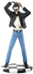 1950s Skeleton Greaser Teen Statue