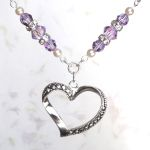 Alexandrite Faithful Heart Necklace