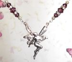Amethyst Good Luck Fairy Necklace
