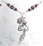Amethyst Romance Fairy Necklace