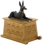 Egyptian Anubis Dog Statue