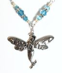 Aquamarine Sea Fairy Necklace