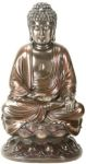 Buddha On Lotus - Bronze Finish