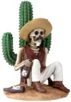 Day Of The Dead Boracho W/cactus Skeleton Statue