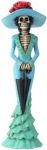 Day Of The Dead Parasol Lady Skeleton Statue