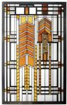Frank Lloyd Wright- Autumn Sumac Art Glass