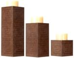 Frank Lloyd Wright- Arrow Candleholder Set/3