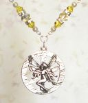Jonquil Peace Fairy Necklace