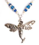 Mediterranean Blue Sea Fairy Necklace