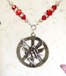 Ruby Peace Fairy Necklace