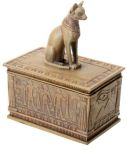 Sandstone Finish Bastet Box