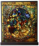 Tiffany Style - Autumn Art Glass Decoration