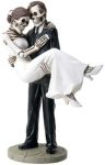 Skeleton Wedding Couple - Groom Carrying Bride
