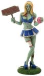 Zombie Cheerleader Statue