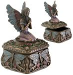 Art Nouveau - Art Deco Dragonfly Fairy Jewelry Box