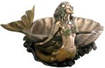 Art Nouveau - Art Deco Mermaid Shell Dish