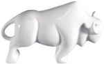 Bone China Bison Statue