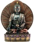Bronze Finish Medicine Buddha Statue - Large