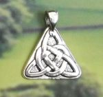 Celtic Knot Triad Celtic Jewelry Pendant