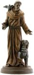 Christian Statues St. Francis- Bnz Finish Statue
