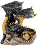 Cliff Dragon Figurine Statue