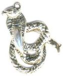 Cobra Snake Pendant - Small