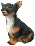 Dog Breed Statues - Black Chihuahua Puppy