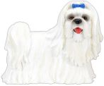 Dog Breed Statues - Maltese