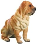 Dog Breed Statues - Sharpei