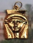 Egyptian Goddess Hathor Pendant