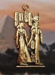 Egyptian Isis And Nefertari Pendant