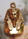 Egyptian King Tut Mask Pendant - Medium