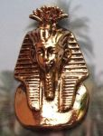 Egyptian King Tut Mask Pendant - Large