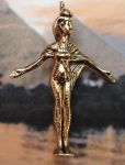Large Egyptian Scorpion Goddess Selket Pendant