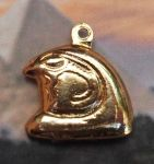 Small Egyptian Horus Head Pendant