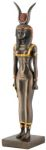 Ancient Egyptian Bronze-finish Isis Statue